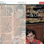 A Love Affair With China - Article in the Global Times about Jocelyn Eikenburg