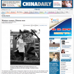 Thumbnail of China Daily Article on Western Women, Chinese Men