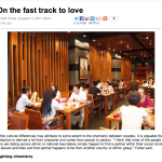 On the Fast Track to Love